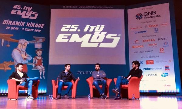 Cuma günü İTÜ'de sevgili Serdar, Zahid ve Mehmet ile Fintech'lerin Geleceği başlıklı bir paneldeydik