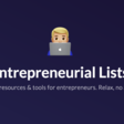 Entrepreneurial Lists