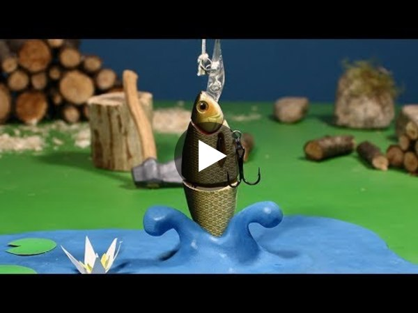 GOING FISHING. A Stop motion Animation by Guldies - YouTube