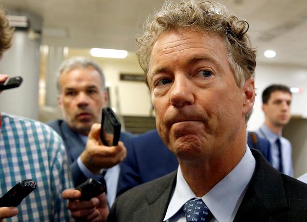 Senator Rand Paul ligt dwars (foto: Reuters)