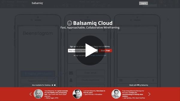 Balsamiq Cloud Intro - YouTube