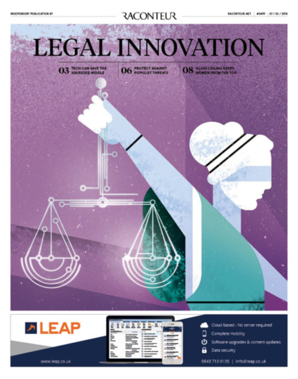 Legal Innovation special report 2017 - Raconteur
