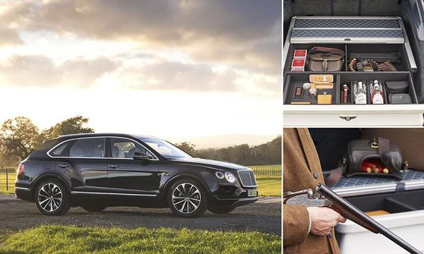 Bentley has created the ultimate SUV for hunters