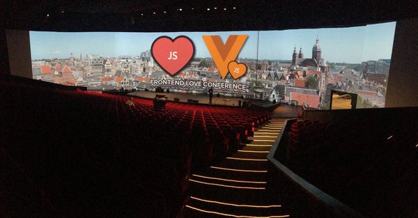The Vue.js Conference in Amsterdam