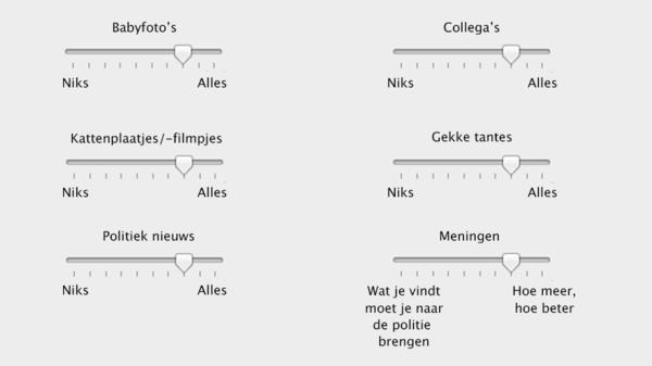 Bright-correspondent Bram van Dijk bedacht dit Facebook schuif-systeem
