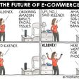 The Future of E-Commerce cartoon