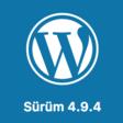 WordPress 4.9.4 Bakım Sürümü Yayınlandı! – WordPress Notları