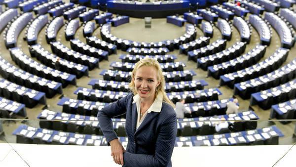 Europarlementariër Marietje Schaake lobbyt in Washington om netneutraliteit te behouden (foto: ANP)