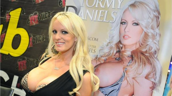 Pornoactrice Stormy Daniels a.k.a. Stephanie Clifford (foto: Reuters)