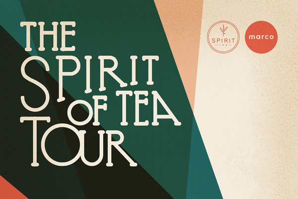 "Spirit Tea And Marco's ""Spirit Of Tea"" Tour Heads East"