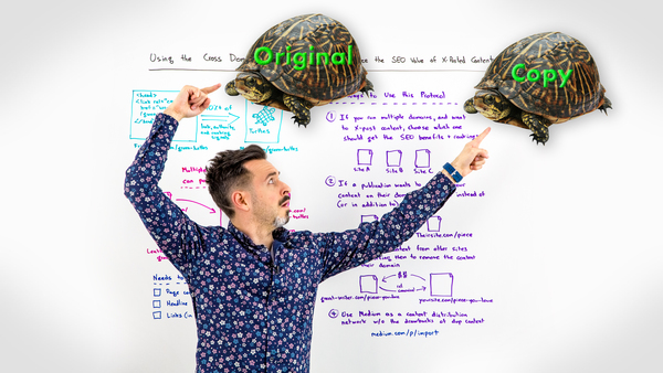 Using the Cross Domain Rel=Canonical to Maximize the SEO Value of Cross-Posted Content - Whiteboard Friday - Moz