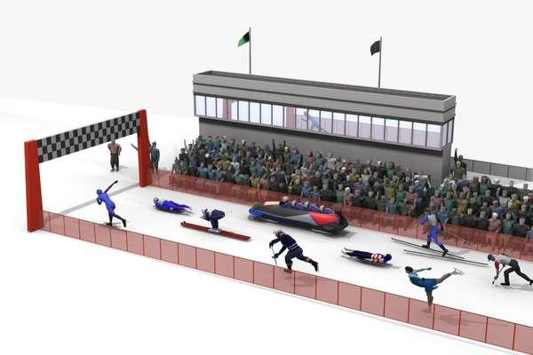 The speediest Winter Olympic sports