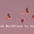 From WordPress to Hexo   SB - Silvestar's personal website