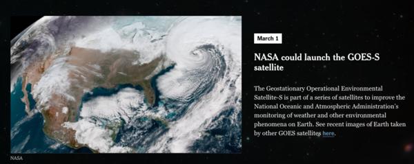 Die New York Times hat einen öffentlichen Kalender mit Weltraum-Ereignissen – und 80.000 Menschen haben ihn abonniert