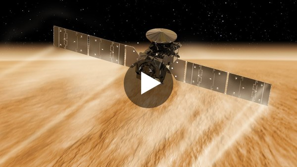 ExoMars Trace Gas Orbiter completes aerobraking - YouTube