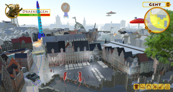 3D-Citygame-Ghent