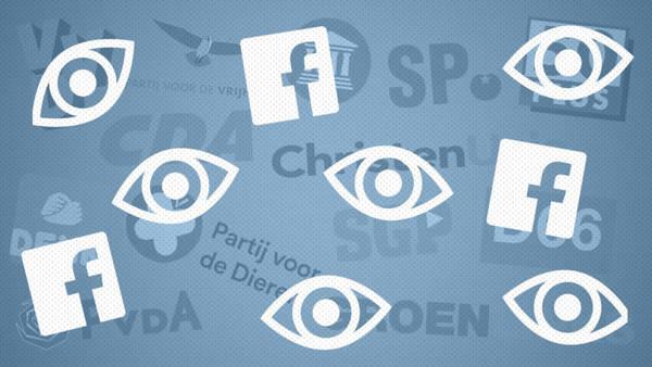Politieke campagnes op Facebook in kaart brengen met browser-extensie