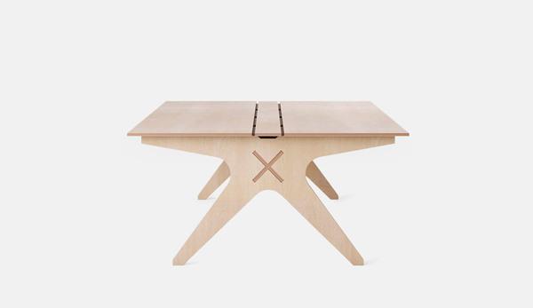 Opendesk'den alacağınız çizimlerle bu masayı üretebilirsiniz.