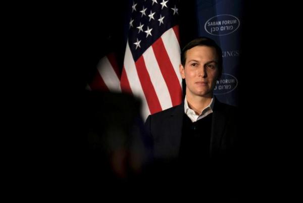 Jared Kushner, schoonzoon en adviseur van president Trump (foto: Reuters)