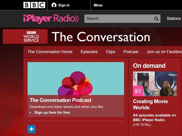Der Podcast: The Conversation