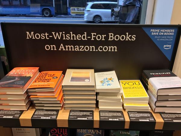Welke boeken staan het meest op wensenlijstjes van Amazon-lezers?