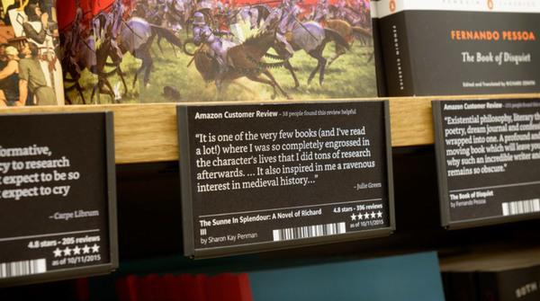 Voorbeeldkaartje. Foto: Amazon
