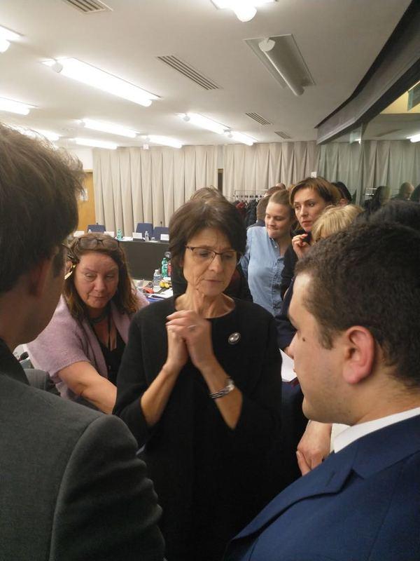 Onderhandelingen met commissaris Thyssen -