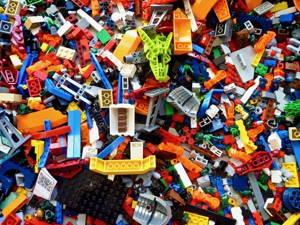 Lego. Where most of us begin making...