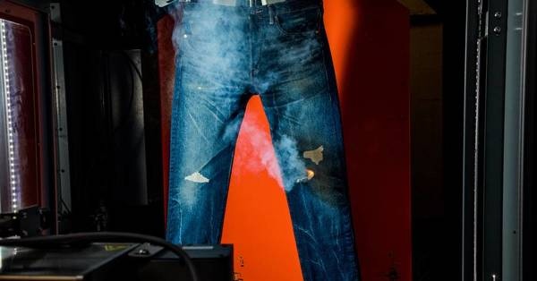 Levi's Wants Lasers, Not People, to Rip Your Jeans
