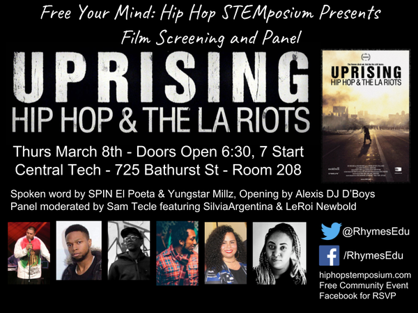 Film Screening 2018 - Hip Hop Education STEMposium