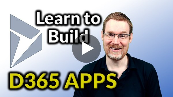 Learn to build Dynamics 365 CE Apps - YouTube