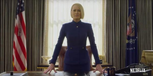 'House of Cards' deja ver a la presidenta Underwood en su primer teaser