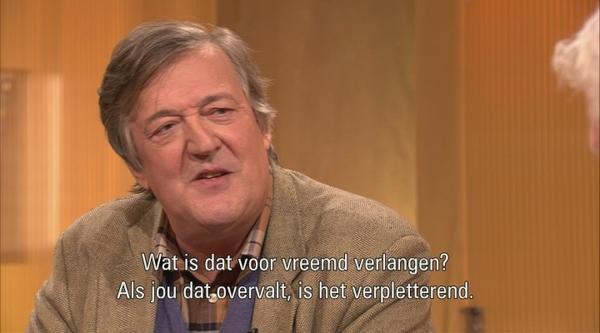 DWDD Heimwee: Hier is... Adriaan van Dis - Stephen Fry