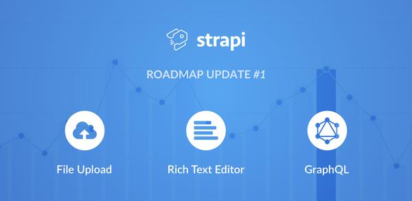 Roadmap Update #1 — Upload, Rich Text Editor & GraphQL