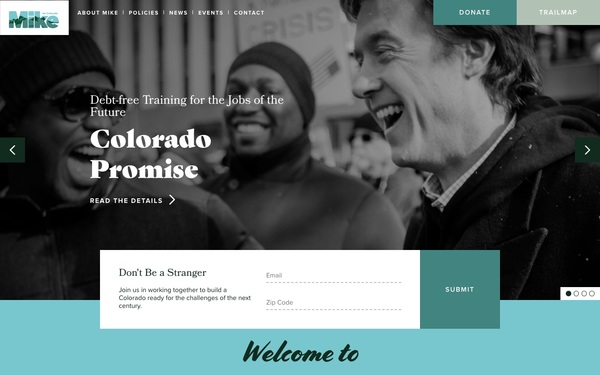 Built with GatsbyJS and Wordpress