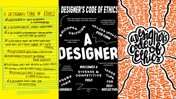 7 Designers Draw Their Code Of Ethics