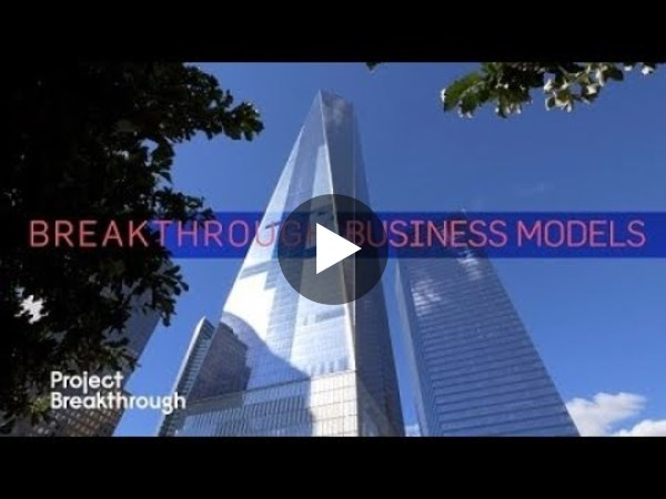 Breakthrough Business Models, not Breakthrough Tech