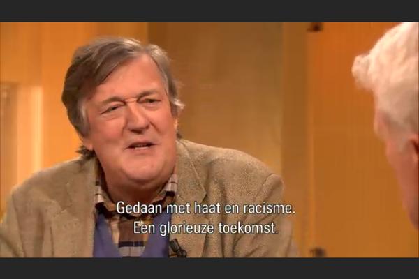 Stephen Fry kent z'n nieuwsbrieven. Leuk dat jij 'm ook leest!