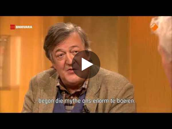 Stephen Fry describing our future with artificial intelligence and robots - YouTube