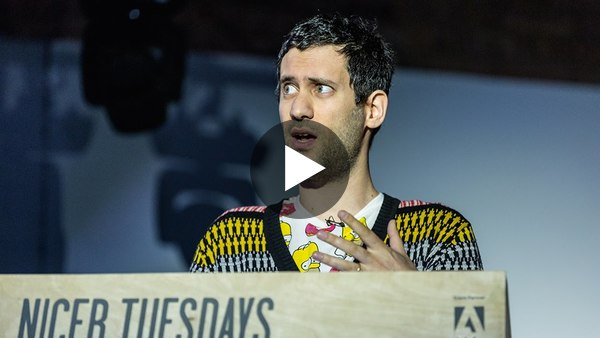 Nicer Tuesdays: Jon Burgerman - YouTube