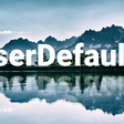 Let's Simplify the Work with UserDefaults