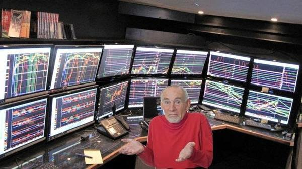 A picture of me trying to understand technical analysis.