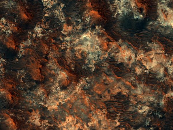 Rich in History, Rich in Clay. Terrain near Mawrth Vallis.