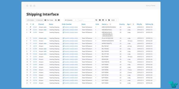Vue Stacks Ecosystem: vstx Data-Table