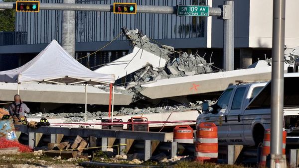 Companies behind Florida bridge collapse have history of fines, failures, lawsuits