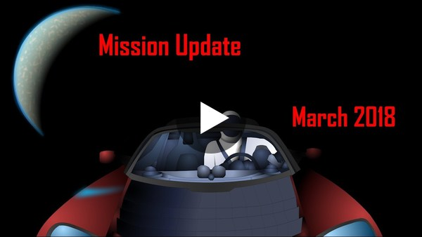 March '18 Mars Mission Update by Ryan MacDonald