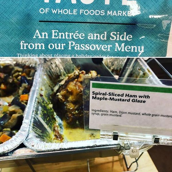 Whole Foods really doesn't get Passover.