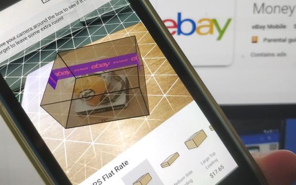 eBay setzt Augmented Reality ein, um Nutzern den passenden Karton zum Verkauf vorzuschlagen