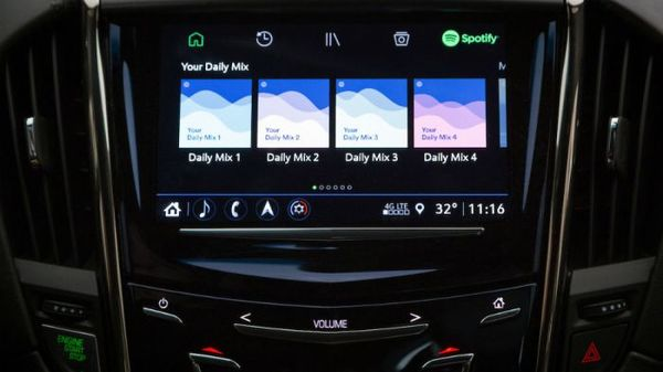 Spotify Launches Integration With Cadillac Automobiles