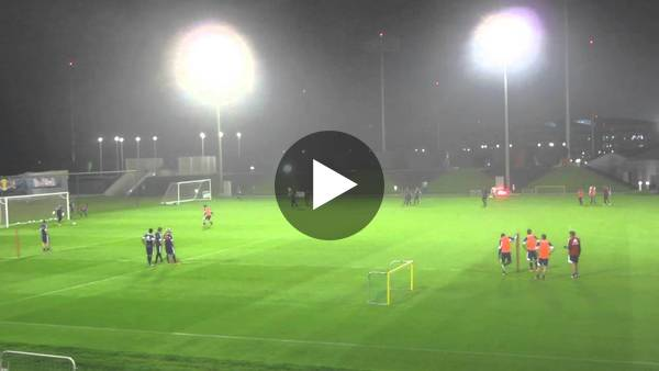 Filmpje 1: Training van Red Bull Salzburg